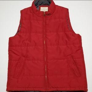 Orginal Weatherproof Vintage Vest Zip Front
